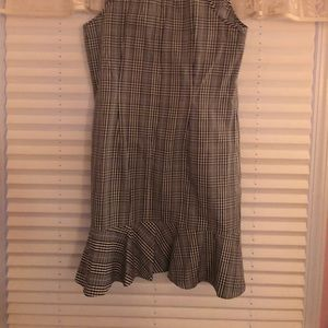 J. Crew Dresses - Plaid J.Crew Ruffle Dress